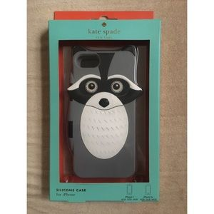 Kate Spade Raccoon Silicone iPhone 5/5S Phone Case